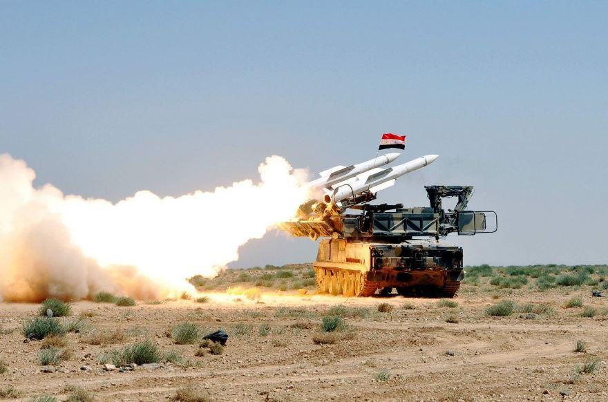 Suriye, İsrail'in hava saldırısını püskürtü…